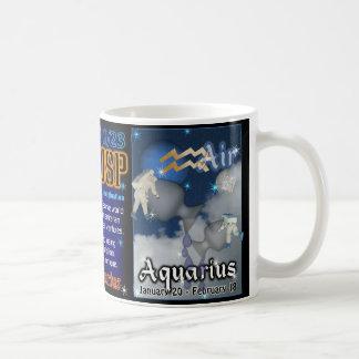 Taza del cambio de signo del acuario del Capricorn