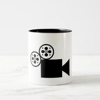 Taza del campanero 11oz de la cámara (blanca)