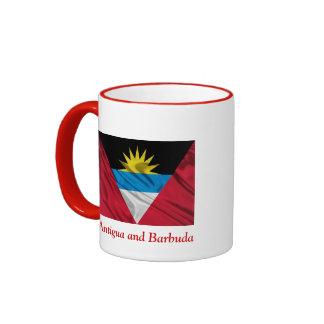 Taza del campanero de Antigua y de Barbuda