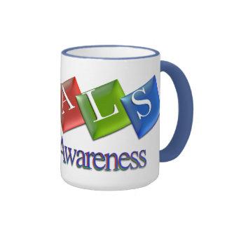 Taza del campanero de la conciencia del ALS