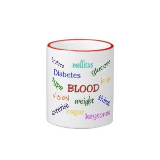 Taza del campanero de la diabetes