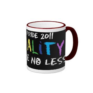 Taza del campanero de la igualdad