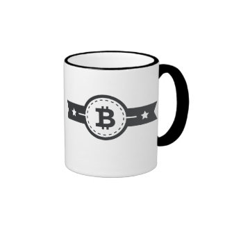 Taza del campanero de la medalla de Bitcoin