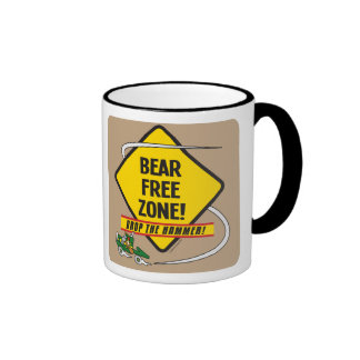 Taza del campanero de la zona franca del oso