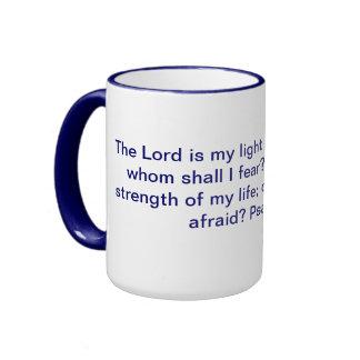 Taza del campanero del 27:1 del salmo
