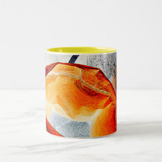 Taza del campanero del arte. Kaffe Kop