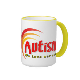 Taza del campanero del autismo