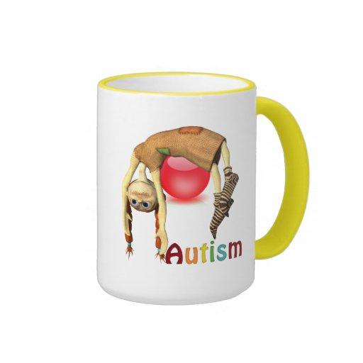 Taza del campanero del autismo Awareness#12