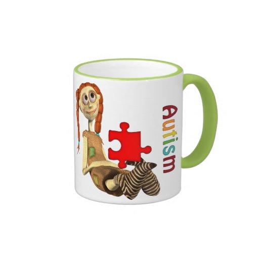 Taza del campanero del autismo Awareness#7