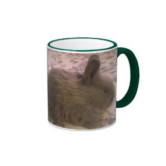 Taza del campanero del conejito del zorro plateado