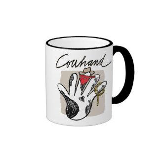Taza del campanero del Cowhand 3