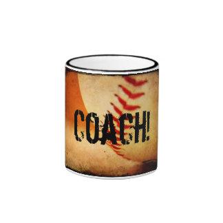 Taza del campanero del entrenador de béisbol