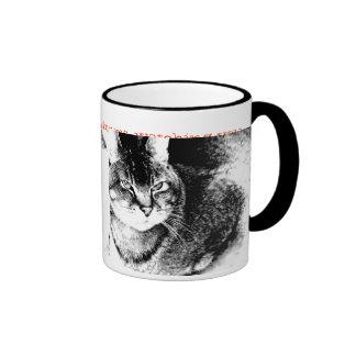 Taza del campanero del gato