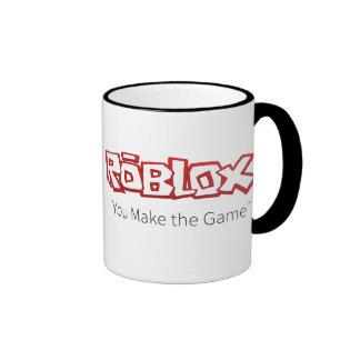 Taza del campanero del logotipo de ROBLOX