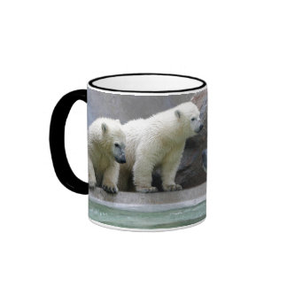 Taza del campanero del oso polar