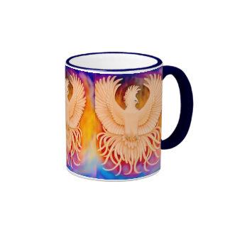 Taza del campanero del pájaro de Phoenix