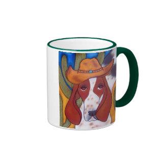 taza del campanero del perro del desierto de Bunga