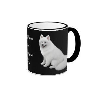 Taza del campanero del perro del samoyedo
