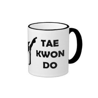 Taza del campanero del Taekwondo
