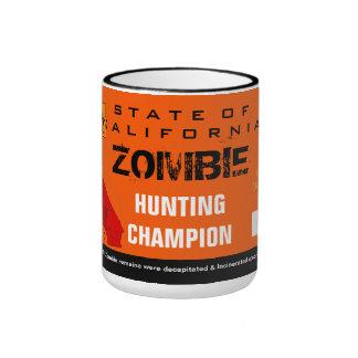 Taza del campeón de la caza del zombi
