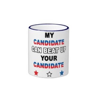 Taza del candidato