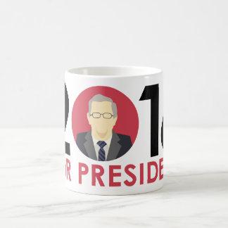 Taza del candidato de la elección presidencial de