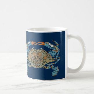 Taza del cangrejo azul