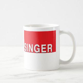 Taza del cantante