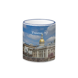 Taza del capitolio del estado de Trenton