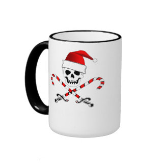 Taza del caramelo del caramelo del navidad del