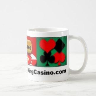 Taza del casino de juego del póker