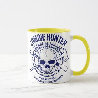 Taza del cazador del zombi
