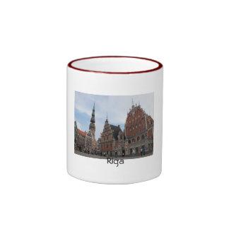 Taza del centro de ciudad de Riga