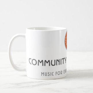 Taza del centro de música de la comunidad