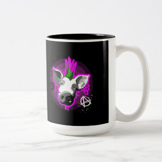 Taza del cerdo del anarquista