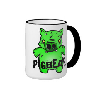 Taza del cerdo del zombi de Pigbear