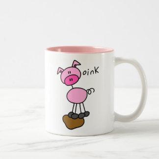 Taza del cerdo Oink