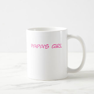 Taza del chica de la papá