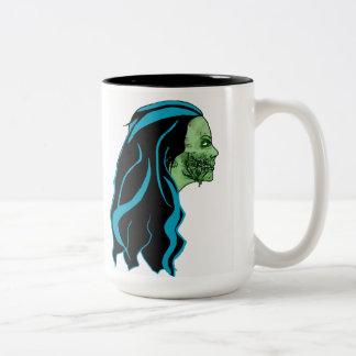 Taza del chica del zombi