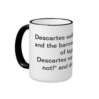 Taza del chiste de Descartes