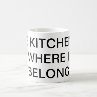 Taza del chiste de la cocina