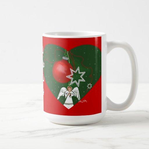 taza del christmastime-