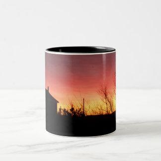 Taza del cielo del fuego