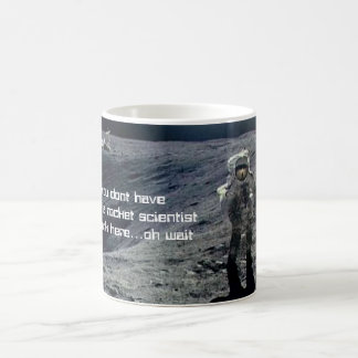 Taza del científico de Rocket