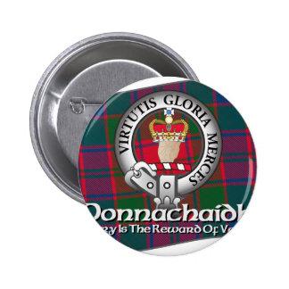 Taza del clan de Donnachaidh Pin Redondo De 2 Pulgadas