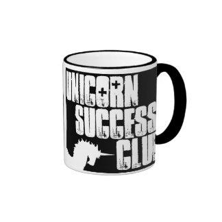 Taza del club del éxito del unicornio