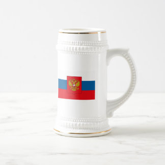Taza del COA de la bandera w de Rusia