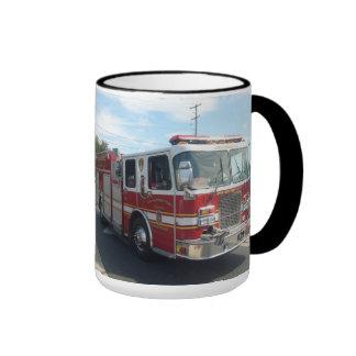 taza del coche de bomberos