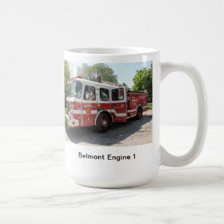 Taza del coche de bomberos 1 de Belmont