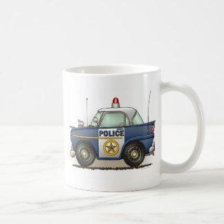Taza del coche del poli de Crusier de la policía d